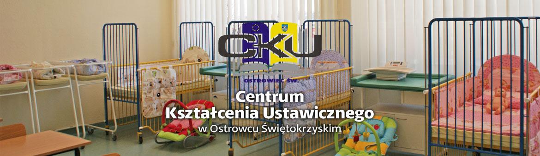 Sala z łóżkami dla noworodków